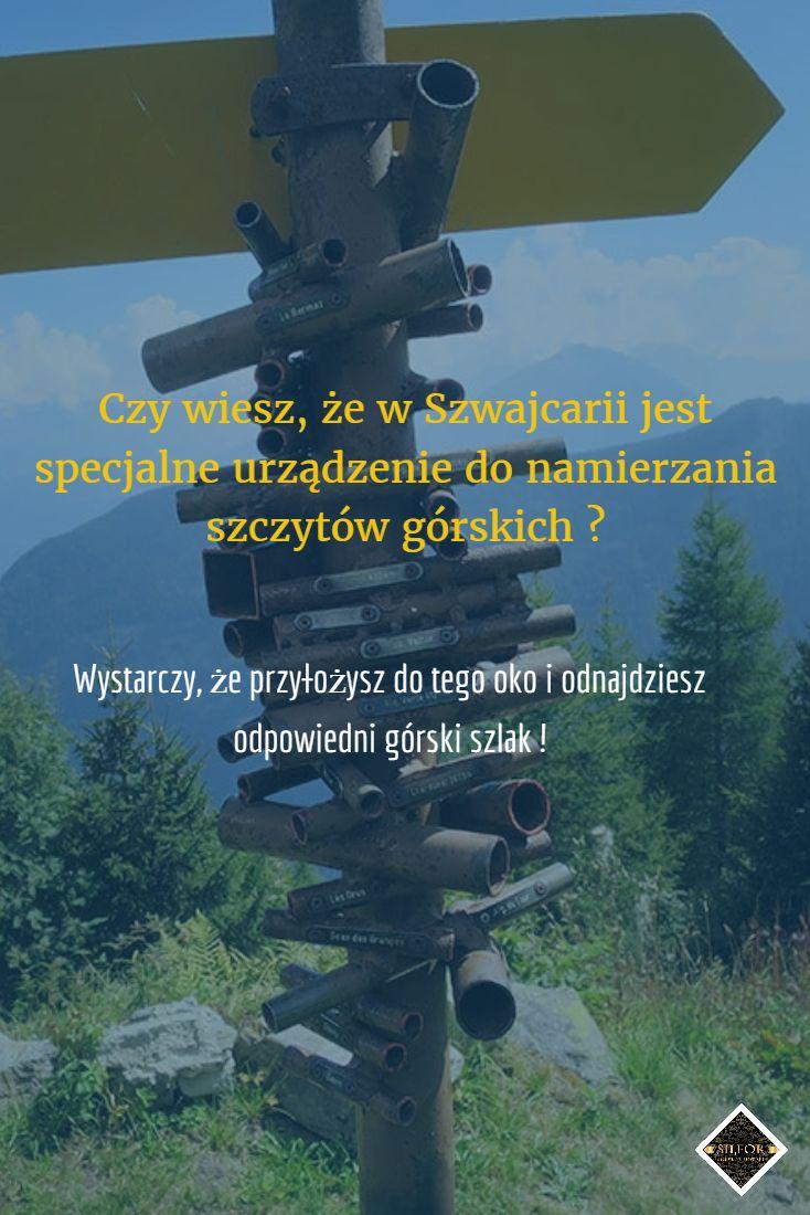 Podczas górskich wypraw łatwo się zgubić. Czy wiedziałeś, że Szwajcarzy przygotowali specjalne urządzenie do namierzania szlaków górskich?