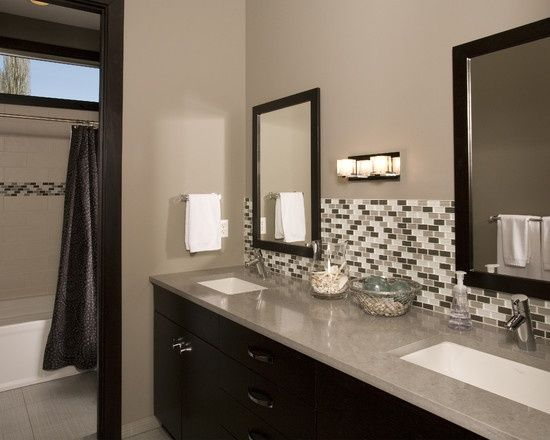 22 best bathroom backsplash ideas images on pinterest | bathroom