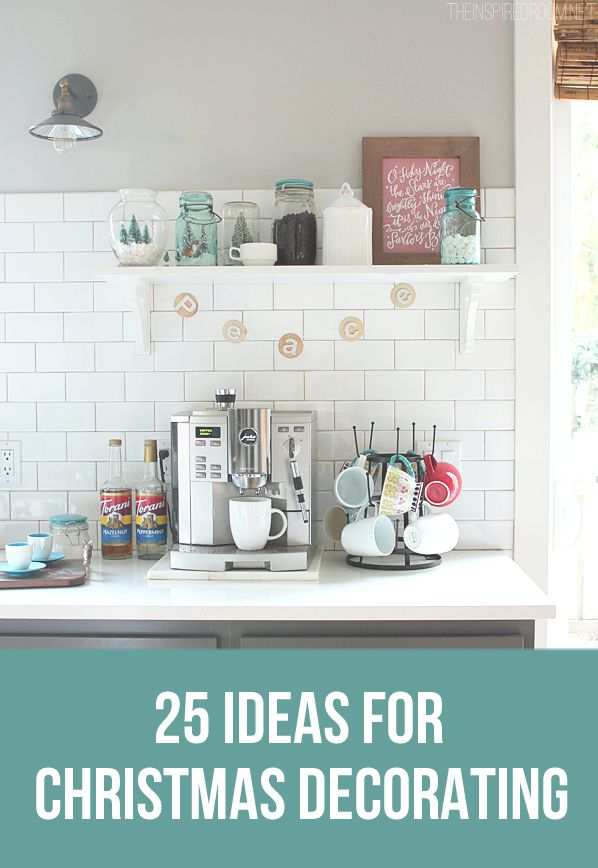 25 Ideas for Christmas Decorating and Craft Making