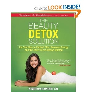 """This was my biggest breakthrough read.  Reading this is when I decided to go mostly vegan.  """"The Beauty Detox Solution"""" is where I got my recipe for my green smoothies (see other pin) as well as lots of great information about cleaning up my diet."""
