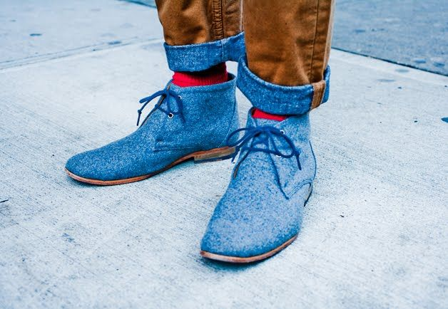 New York Street Style Photos by Ben Ferrari - Men's Street Style Boots