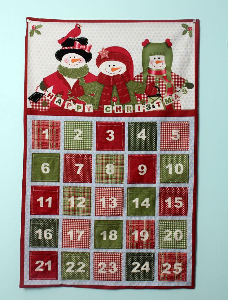 Crafty Gemini: Christmas Advent Calendar Tutorial & Fabric Giveaway                                                                                                                                                                                 More