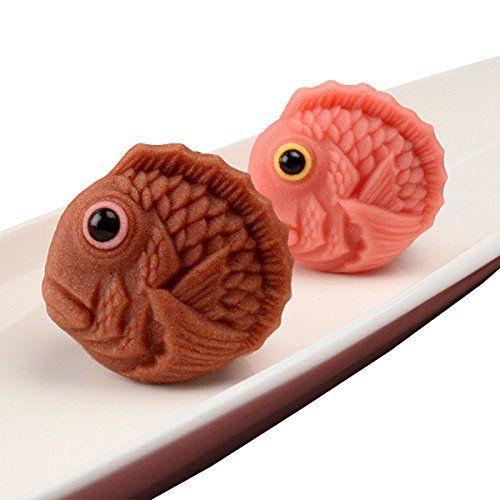 ショコラ風味とさくら風味 かわいい鯛の上生菓子「ショコラ鯛」001