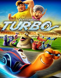 Turbo is an animation about a snail who dreams of being fast and finally gets his wish by driving in the Indie 500 race. Everything about this film is average. The acting, the animation, storyline and the directing. It's just an average movie, period. Kids may enjoy it but nothing stands out to make this a must see movie.