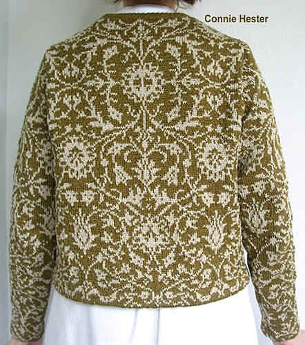 for the chart Ravelry: Stranded Colorwork Jacket, Version B pattern by Connie Hester