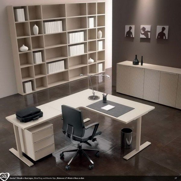 US L-shaped office desk Us Collection by Castellani.it