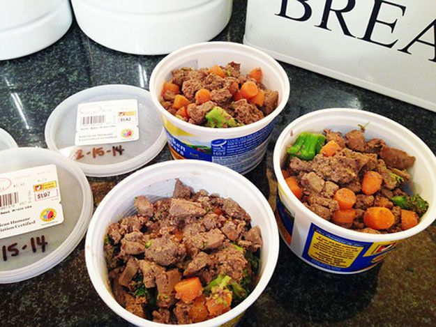Homemade Dog Food | Recipe and Instructions - Pioneer Settler..... leftover animal parts + garden scraps + extra produce