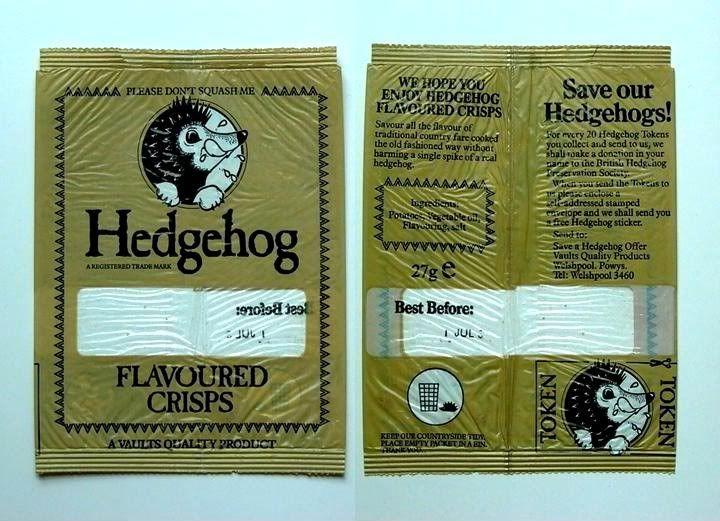Hedgehog Flavoured Crisps > Food and drink   DoYouRemember.co.uk