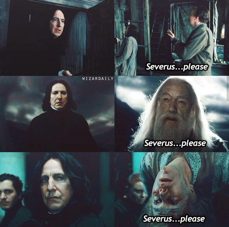 Severus...please