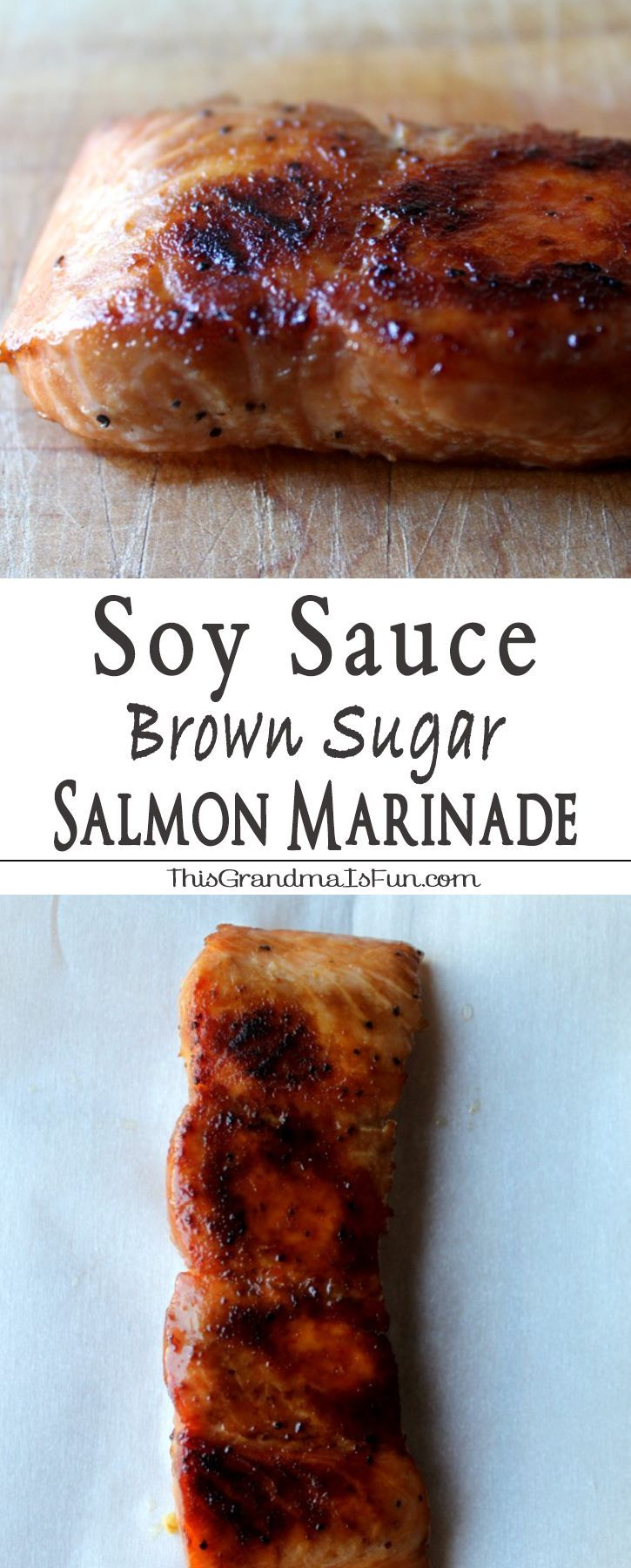 Soy Sauce Brown Sugar Marinade Even Salmon haters will love salmon with this Soy…