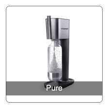 Soda stream machine...my favourite appliance! Makes soda water out of tap water without any sodium etc. added. Much better than buying disposable/recyclable bottles.