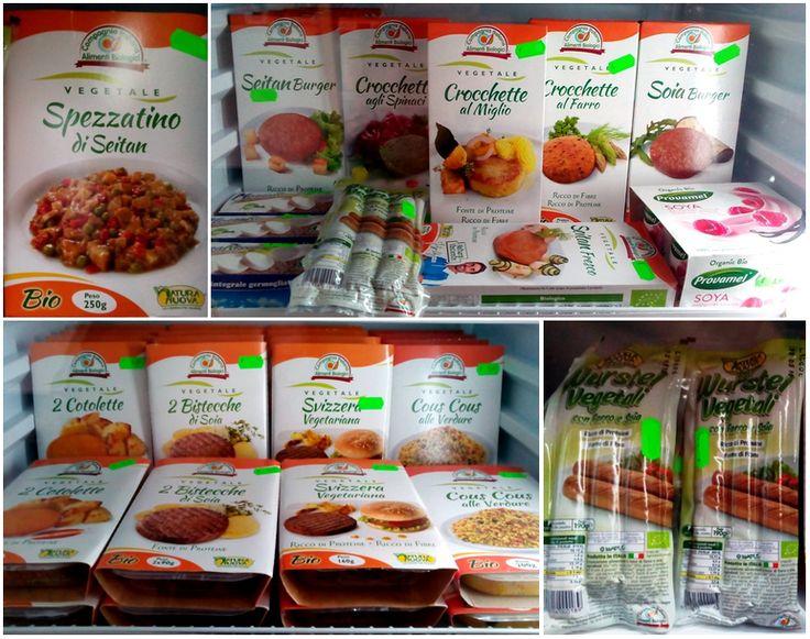 Prodotti freschi per vegetariani!