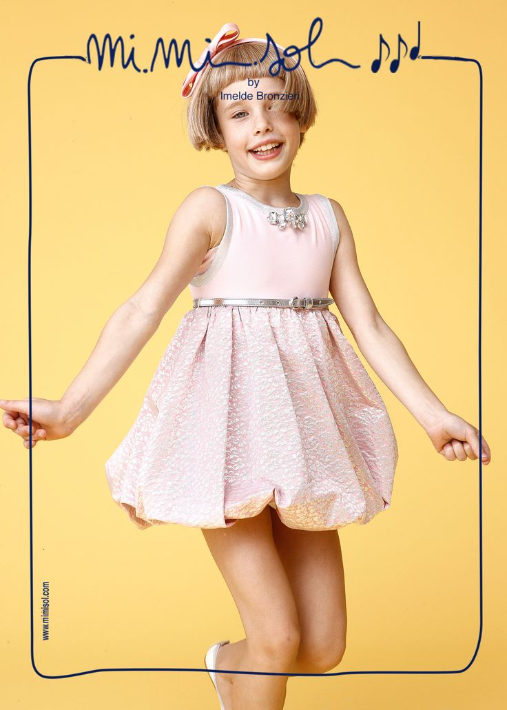 Sun , you laugh and kiss my face I feel the warmth of your arms I jump right, left and centre and there is nothing that get me tired!  #fashion #MiMiSol #children #SS2014 #ceremony #Imeldebronzieri #jump #smile #fun