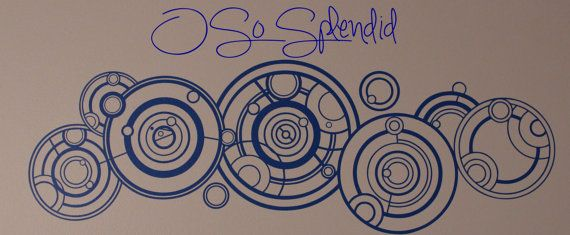The Doctor's Name in Gallifreyan Large Doctor Who by OSoSplendid