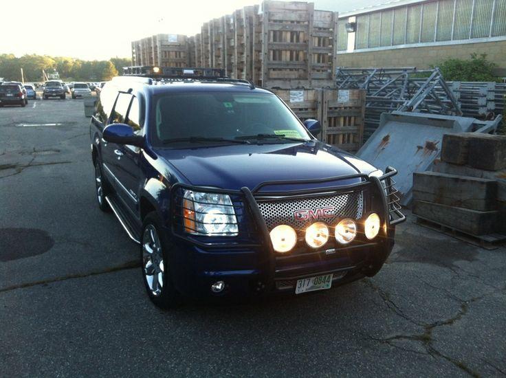 grille guard for 2004 Cadillac Escalade   ... GMC Yukon ...