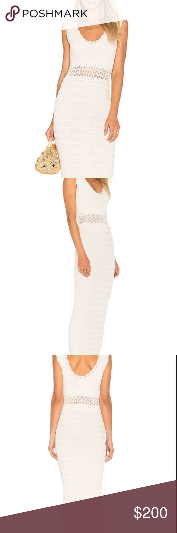 RONNY KOBO ivory Noria Maxi dress Size small, never worn, brand new with tags! Bought at Garmany. Selling it because I have no where to wear it. (Sorry for my low quality photos I am not a great photographer)! ❤️💕 Ronny Kobo Collection Dresses Maxi