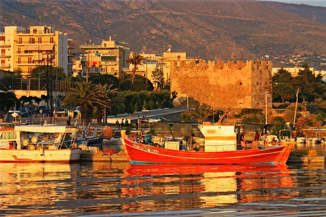 Karystos Town Evia