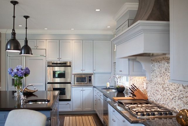 Gray Kitchen Cabinet Paint Color Benjamin Moore Paint Color 2132