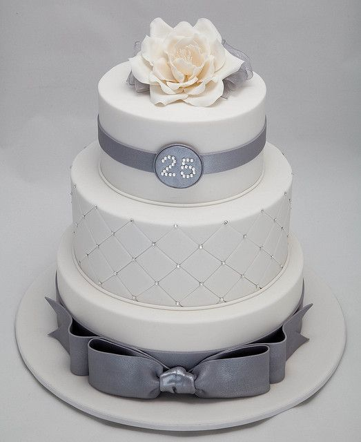 25th Wedding Anniversary by Rouvelee's Creations, via Flickr
