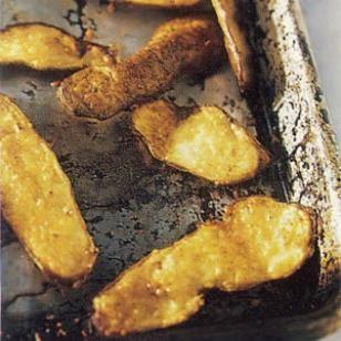 Parmesan Potato Skin Chips