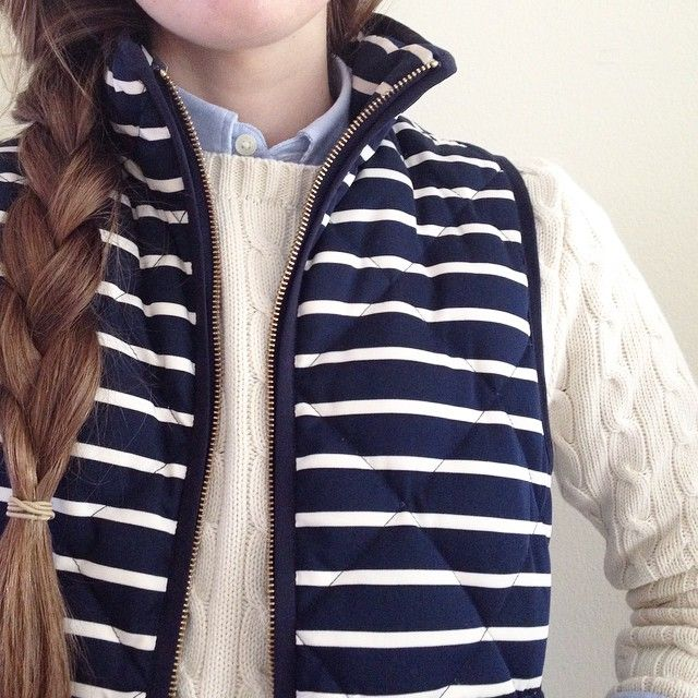 sidebraids: sweater weather is good, but vest weather is best