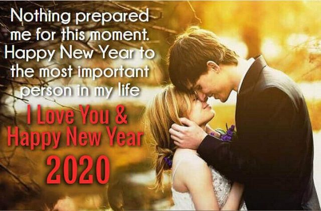 Best Happy New Year Wishes for Loved One | New Year 2020 Wishes For Her &  Him to Wish & Roma… | Happy new year quotes, Happy new year love, New year  wishes messages
