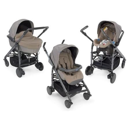 Коляска Chicco Trio Love Poetic (3 в 1)  — 49800р. ------------- Chicco Trio Love - это одна модульная система и 4 разных конфигурации: люлька, автомобильное кресло и прогулочный блок с реверсивным сиденьем  В Chicco Trio Love входит все, что нужно для перевозки ребенка с рождения до 3-х лет. Каждый элемент коляски был разработан так, чтобы маленький пассажир чувствовал себя словно в маминых объятиях. Всё - большая люлька с мягким матрасом, регулируемый подголовник, мягкие накладки и широкое…