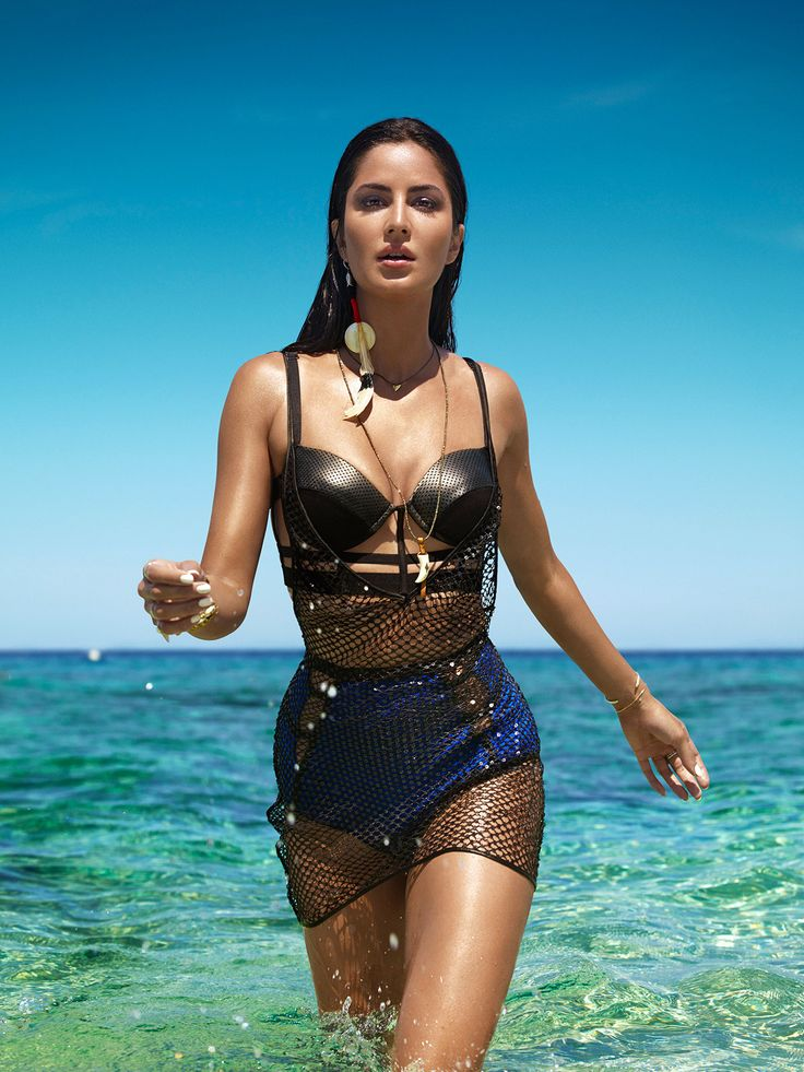 Katrina Kaif Hot Vogue Photoshoot June 2016: Check out pictures inside scans of Katrina Kaif Hottest and Sexiest Bikini Photoshoot for Vogue India Magazine June 2016 Issue.