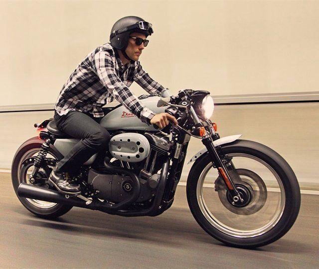Harley-Davidson Nightster Café Racer By Deus  by mehmetxk via fancy #harleydavudson