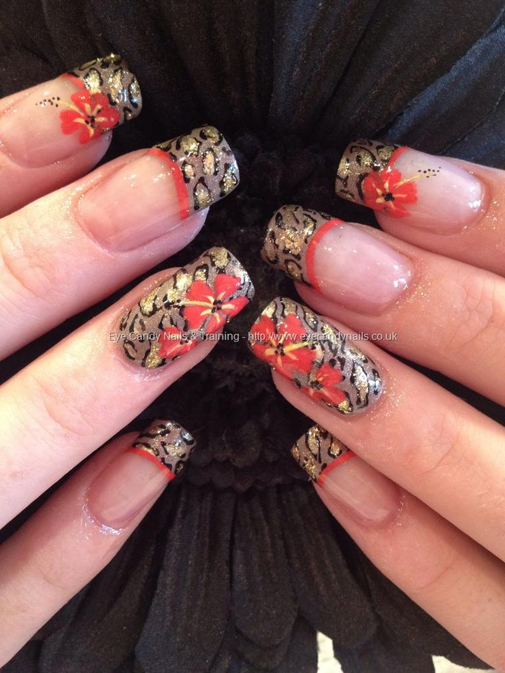 467 best eye candy lovely nail art images on pinterest eye candy eye candy nails training leopard print and flowers freehand nail art by elaine moore on 11 august 2012 at prinsesfo Image collections