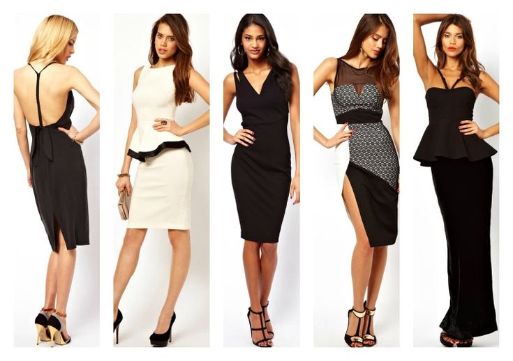 21 Monochrome Xmas Party Dresses