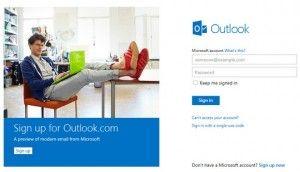 Como actualizar Hotmail a Outlook.com