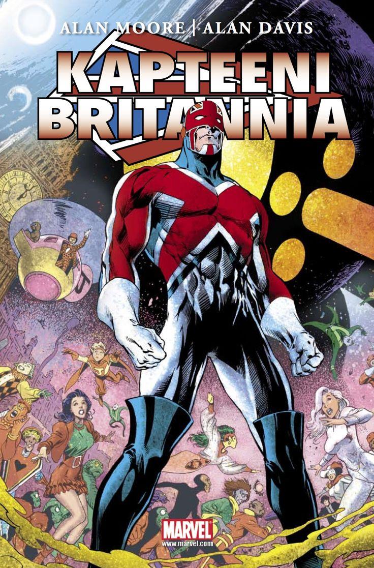 Kapteeni Britannia. #marvel #supersankari #egmont #sarjakuva #sarjis
