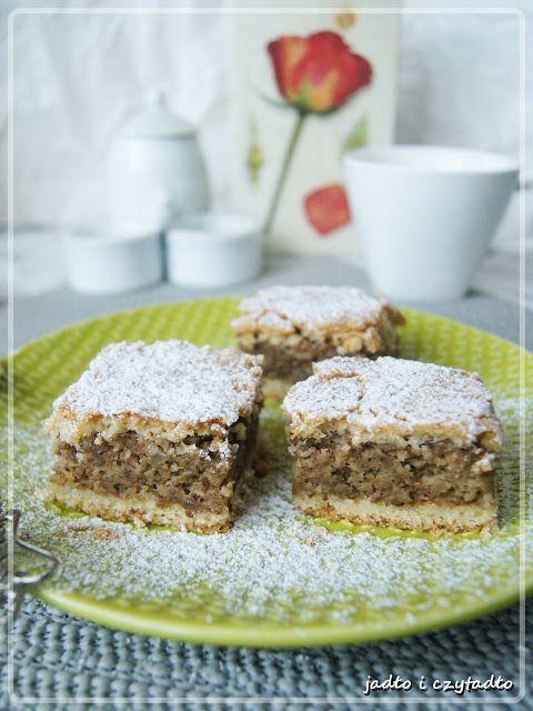 Jadło i czytadło: Ciasto orzechwe z ziemniakami !!! Pychotka