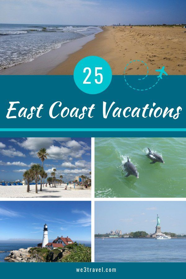 25 Quintessential East Coast Family Vacation Destinations East Coast Family Vacations East Coast Vacation East Coast Travel