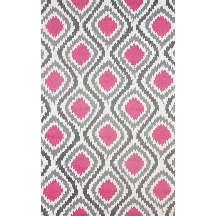 quality meets value in this beautiful modern area rug handhooked with polyester to
