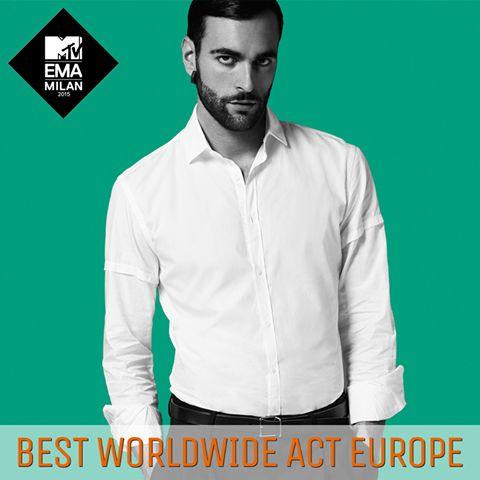 EMA 2015 - Best Worldwide Act Europe - 25 ottobre 2015