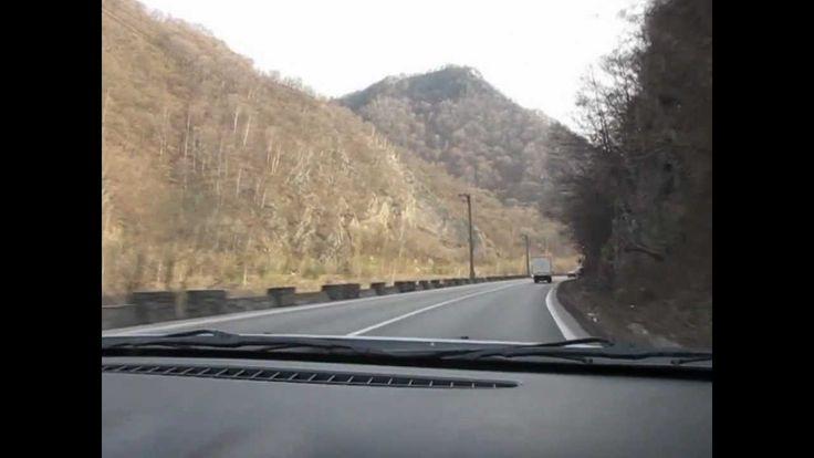 Traversand muntii din Sibiu in Valcea prin Valea Oltului pe E81