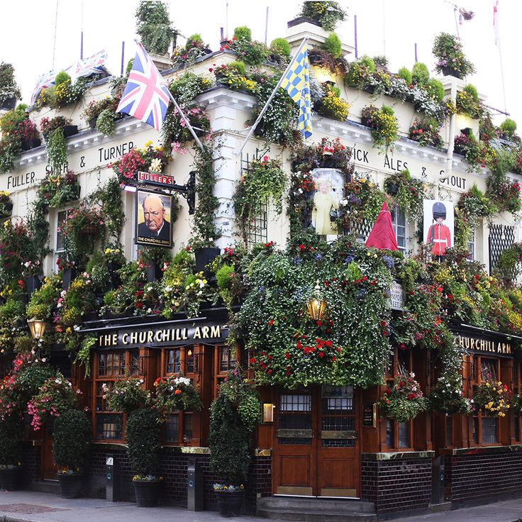 The Churchill Arms, Notting Hill, London