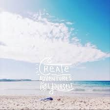 Short Beach Quotes Short Beach Quotes Also Create Adventures Be Happy Inspirational  Short Beach Quotes