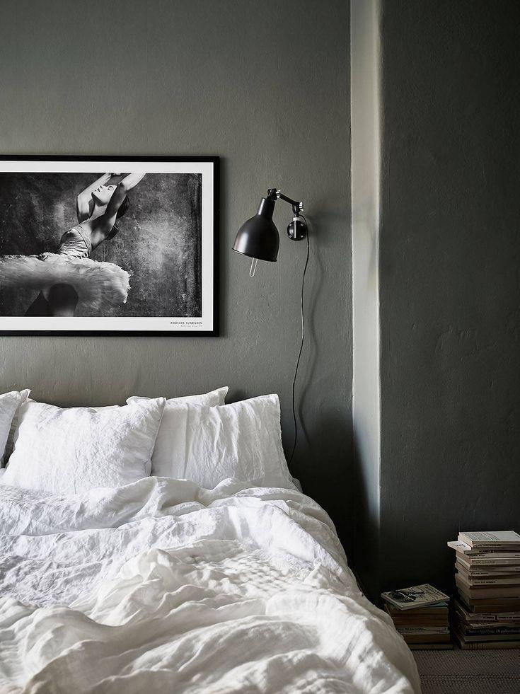 25 beste ideeà n over donkergrijze slaapkamers op pinterest