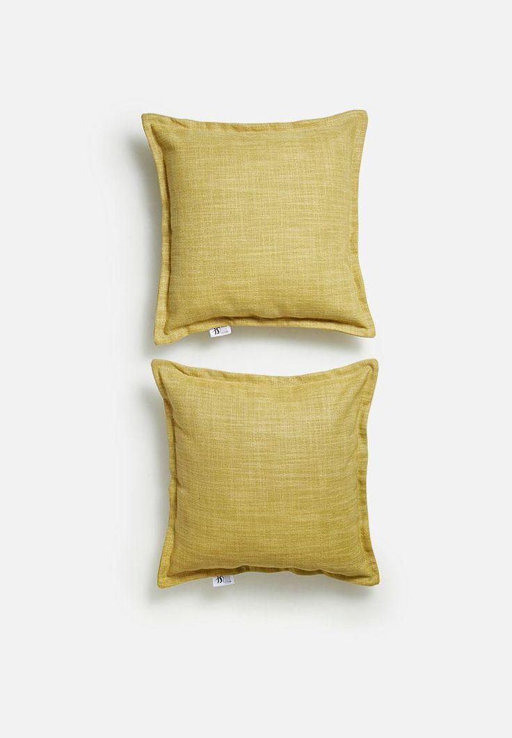 Flynn dijon cushion cover set Sixth Floor Scatter | Superbalist.com