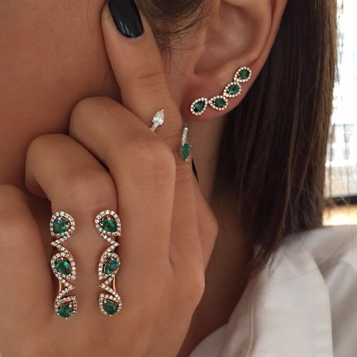 Instagram 上的 Djula Jewelry:「 Today we  Emeralds And Diamonds #Djula #NewCollection #DjulaJewelry ™®© 」