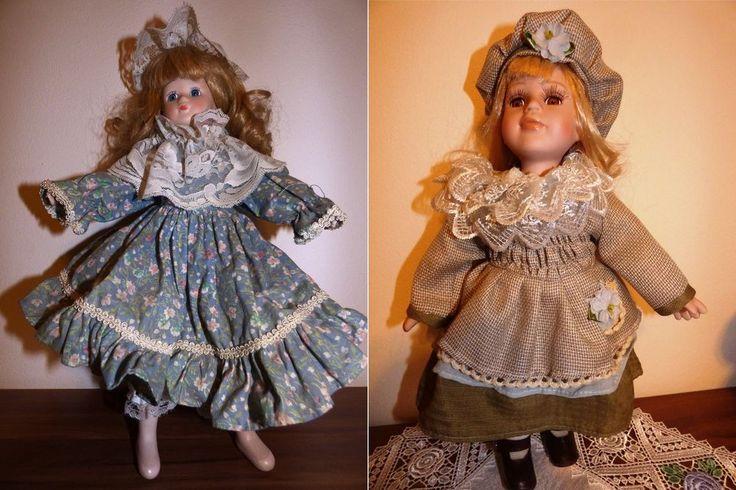 2 Sammlerpuppen; Schau Puppen