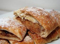 Strudel de Maçã, doce húngaro e alemã muito apreciado no Sul do Brasil!  #strudel #pie #apple #maçã #torta #doce #sobremesa