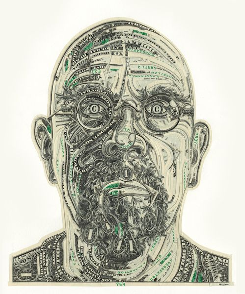 Chuck Close, reigning king of portraiture. I used to work as a minion of one of Chuck Close's minions.