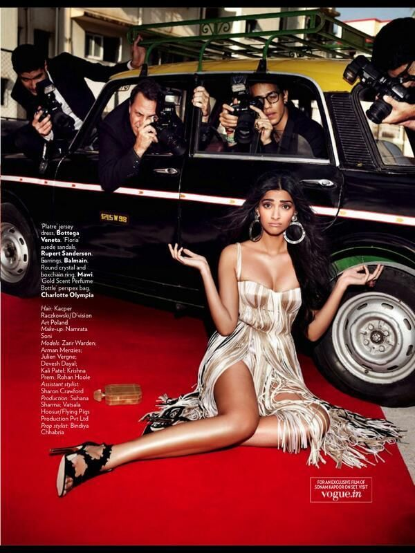 #SonamKapoor | VOGUE India  | June 2013