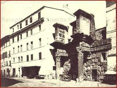 """Le """"colonnacce"""" del Foro di Nerva Anno: ante 1932"""