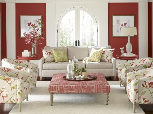 Floral patterns are also back in style, only this year they come with a twist: a white background.