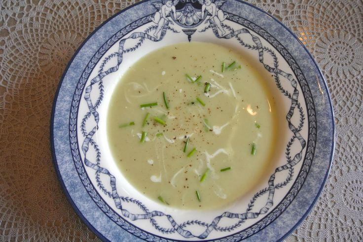Witte kool soep